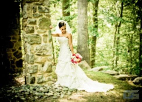 Немного грустная невеста